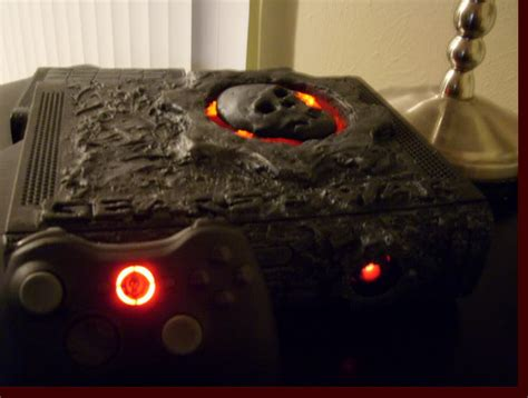 xbox 360 gears of war console console mods saturdays gears of war xbox 360 mod the