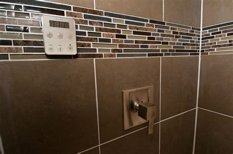 brown subway tile bathroom pin by kerri dahlgren on master bathroom pinterest
