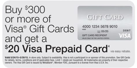 Is There A Activation Fee For A Visa Gift Cards - visa gift card money maker at staples starting 5 24 living rich with coupons