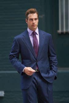 blue suit  purple shirttie  works blue suit