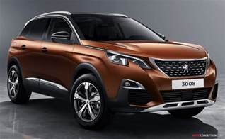 Suv Peugeot 2017 Peugeot 3008 Suv Revealed Autoconception