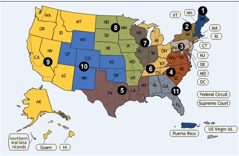 map us circuit courts of appeal united states courts of appeals
