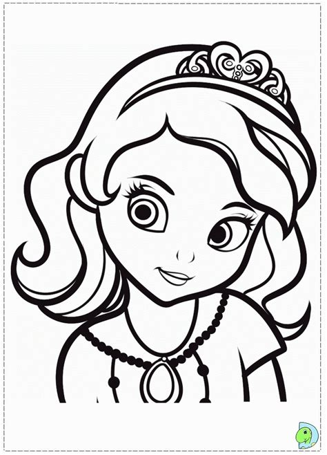 Coloring Page From Photo by Princess Sofia Coloring Page Coloring Home