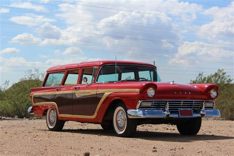 ford contry 1957 ford country squire woody wagon 189955