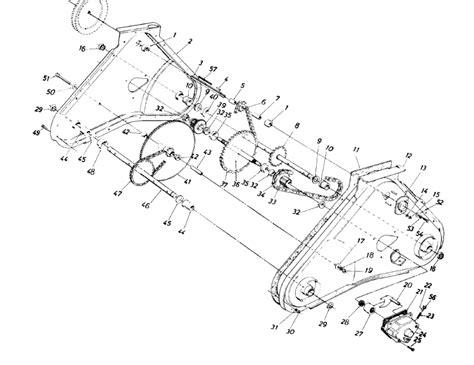 yard machines mower diagram yard free engine