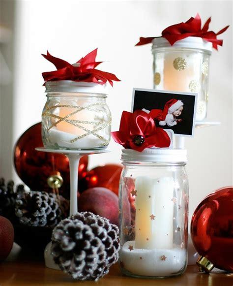 Decoration De Noel Pot En Verre 1001 id 233 es innovantes pour que faire avec des pots en verre