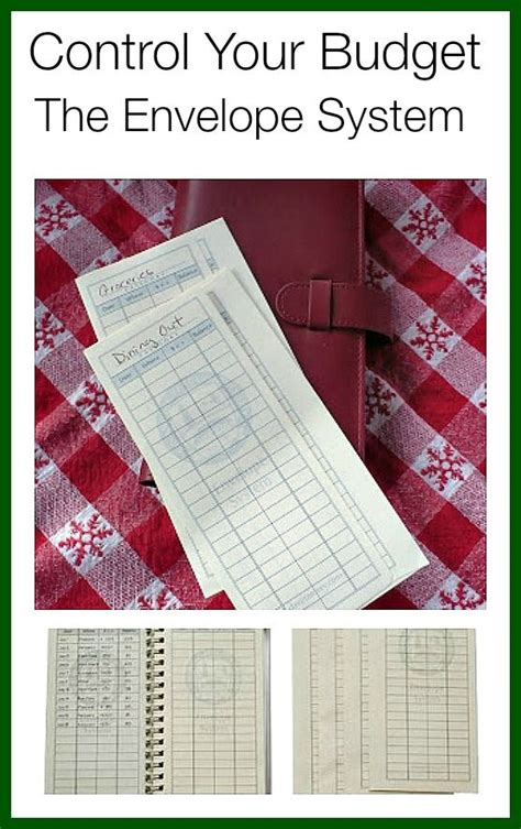 envelope budgeting system ideas  pinterest