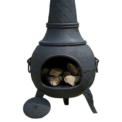 Metal Chiminea Paint Cast Iron Bird Table In Stock Now Greenfingers