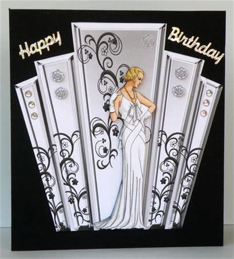 deco greeting cards templates deco style panels with deco cup136733 617