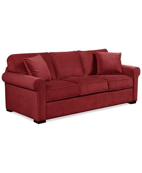 remo sofa remo ii fabric sofa custom colors furniture macy s