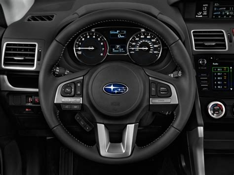 subaru forester steering wheel image 2017 subaru forester 2 5i limited cvt steering