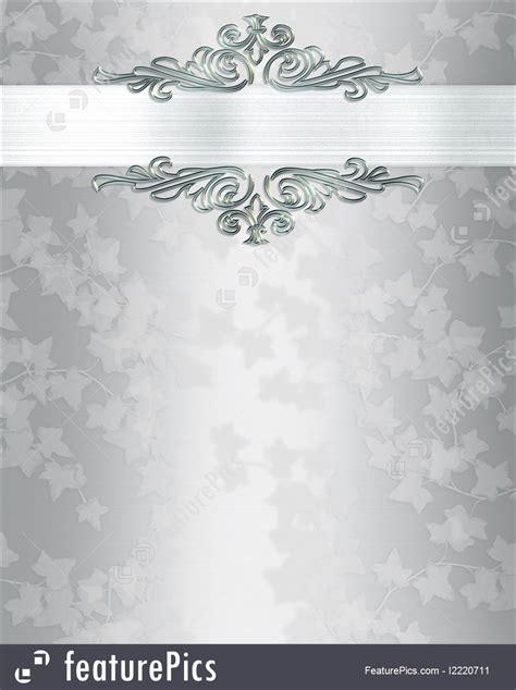 Templates: Wedding Invitation Background Elegant   Stock