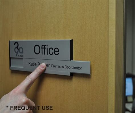 office door signs by www de signage com office wall signs