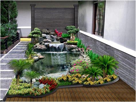 desain taman belakang rumah minimalis klasik desainrumahnyacom
