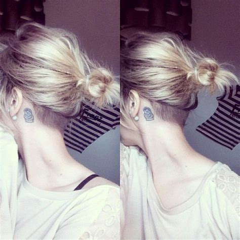 nape undercut long hair maybe just to get the hair off the nape of my neck