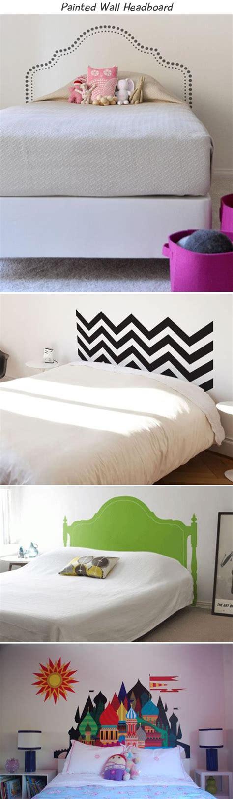 painted wall headboard amazing headboard ideas 12 pics