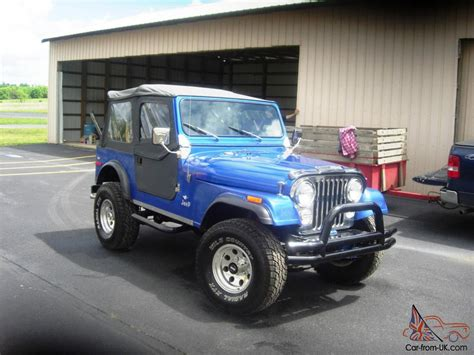 Restored Jeeps For Sale Restored Jeep Cj 1980