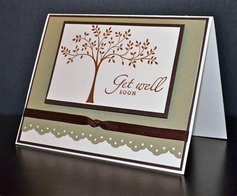 Get Well Handmade Cards - get well card handmade card stin up card
