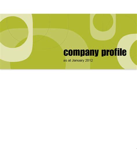 company profile sle download free premium templates
