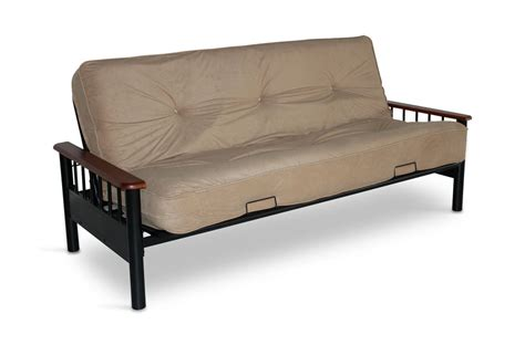Futons At Furniture by Futon Frame With Innerspring Futon Mattress Hom
