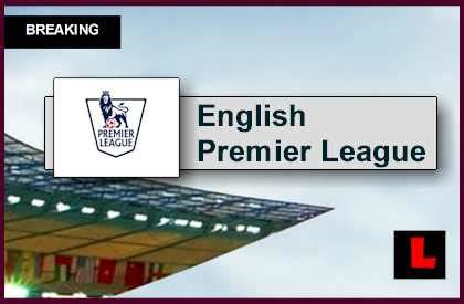 epl table games today soccer