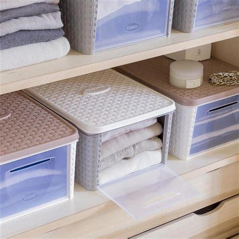 contenitori per armadi contenitore per armadio infinity box lt 20 storage
