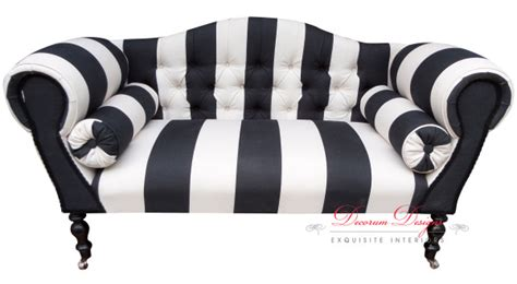 black and white striped sofa black and white striped sofa black and white striped