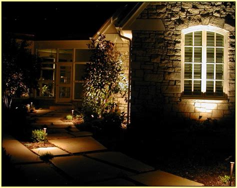 Low Voltage Patio Lighting by Low Voltage Outdoor Lighting Kits Home Design Ideas