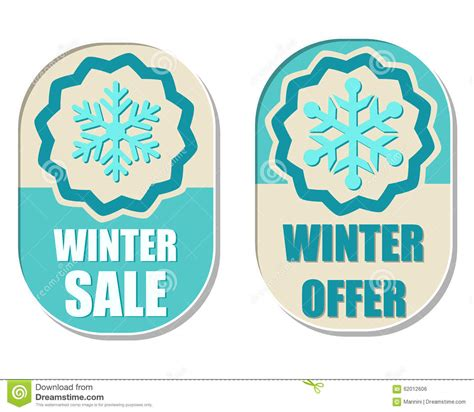 Winter Sale For Just The Two Of Us by Winter Sale And Offer With Snowflake Sign Stock