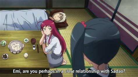 Anime Comme Hataraku Maou Sama Hataraku Maou Sama 07 Ore No Tonari Ga Konna Ni Kawaii