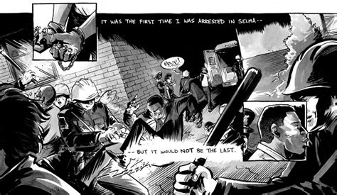 march book three rep lewis on his graphic novel trilogy about the