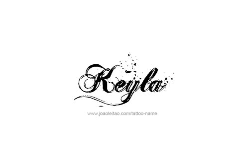 keyla name tattoo designs