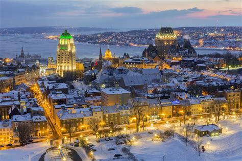 Visiting Quebec City in Winter