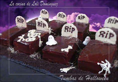 imagenes de halloween tumbas recetas tumbas de chocolate para halloween recetas de