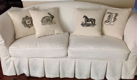 canvas drop cloth slipcover pin by wendy lancaster on slipcovers pinterest