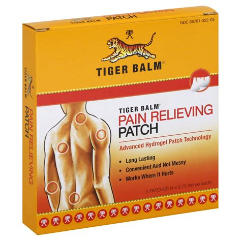 tiger balm relieving patch 5 patches