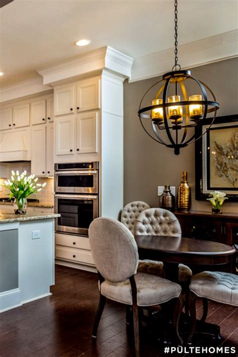 Pulte Home Design Options Pulte Homes Nooks And The Chandelier On