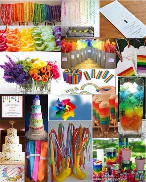 rainbow themed wedding decorations 100 best images about rainbow wedding theme on