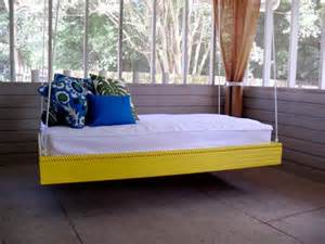 ana white hanging outdoor bed diy projects