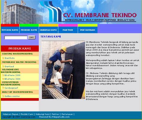 contoh layout desain web contoh design web