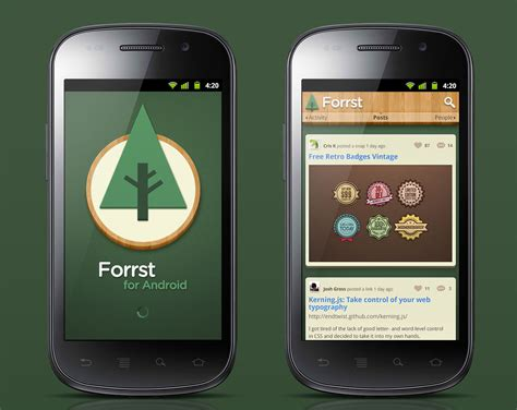 design app android forrst android app ui design geng gao creative portfolio