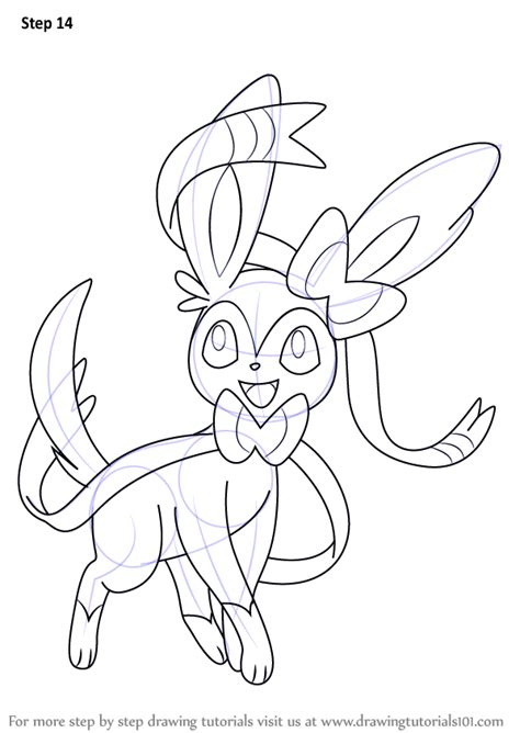 coloring adventure an coloring book with beautiful and relaxing coloring pages a magical world of creatures enchanted animals and whimsical books learn how to draw sylveon from step by
