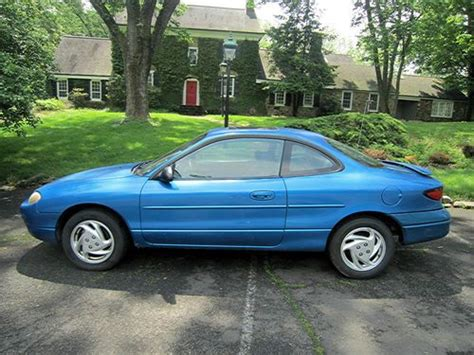 manual cars for sale 2001 ford zx2 parking system sell used 2001 ford escort zx2 coupe 2 door 2 0l 5 speed and no reserve in new hope