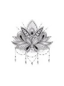 Lotus Mandalas Mandala Lotus Flower Sticker Lotus Flower And Lotus