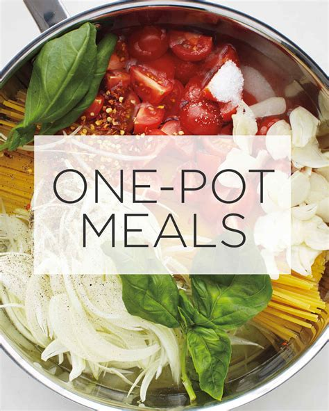 one pot meals martha stewart