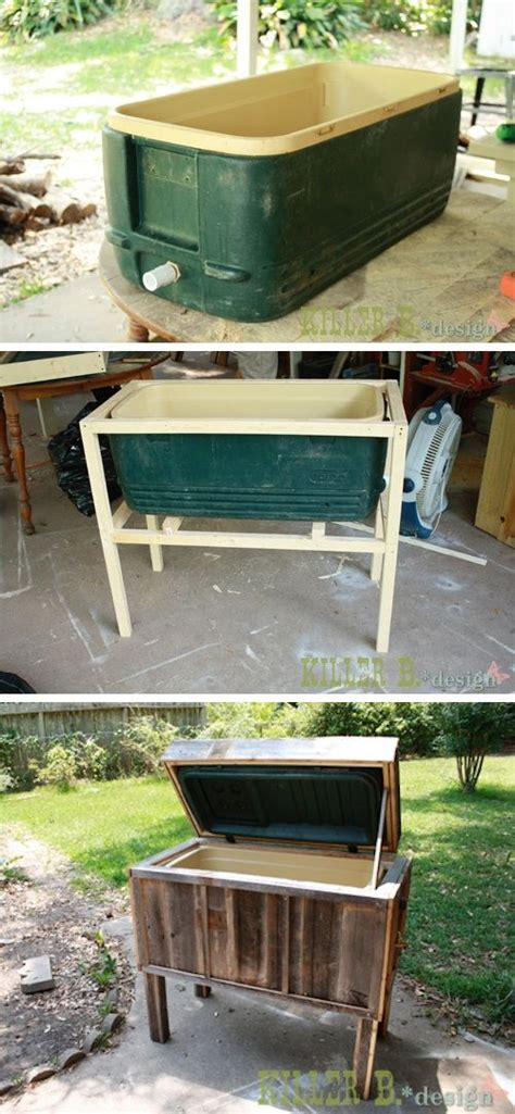 Backyard Chest best 20 furniture projects ideas on diy home decor projects diy cooler and house