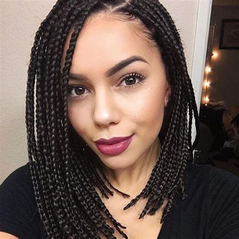 box braid bob 50 glamorous ways to rock box braids hair motive hair motive