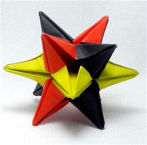 origami instructions 3d star origami 3d star make easy origami instructions kids