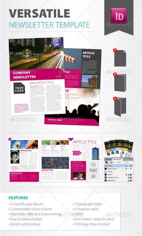 font newsletter design versatile newsletter template newsletter templates