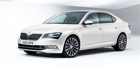 2015 skoda superb and new compared carwow